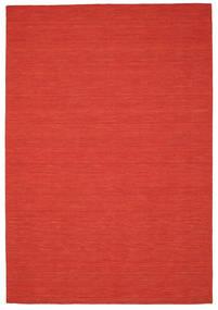 Kilim loom - Red rug CVD8728