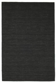 Kilim loom - Black carpet CVD8928