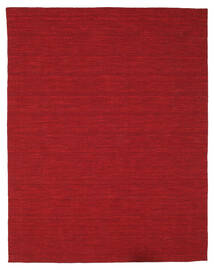Kilim Loom - Dark Red Rug 200X250 Authentic  Modern Handwoven Crimson Red (Wool, India)