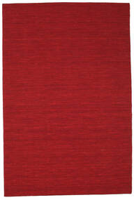 Kilim loom - Dark Red rug CVD8707