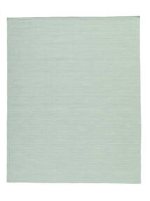 Kilim loom - Mint Green rug CVD8682