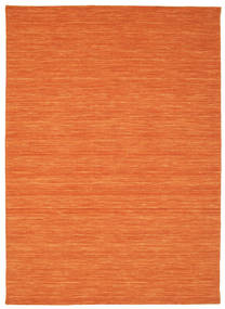 Tapis Kilim loom - Orange CVD8805