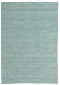 Kilim loom - Mint Green carpet CVD8688