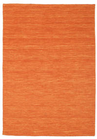 Kelim loom - Orange Teppich CVD8809