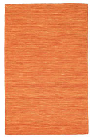 Kilim loom - Orange carpet CVD8813