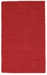 Kelim loom - Mørkerød tæppe CVD8719