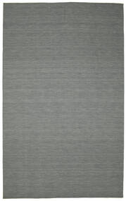 Kilim Loom - Dark Grey Rug 300X500 Authentic  Modern Handwoven Dark Grey/Light Grey Large (Wool, India)