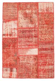 Patchwork Rug 102X152 Authentic  Modern Handknotted Rust Red/Dark Beige (Wool, Turkey)