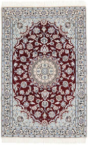 Nain 9La Rug 114X177 Authentic  Oriental Handknotted Beige/Light Brown (Wool/Silk, Persia/Iran)