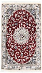 Nain 9La Tapijt 90X151 Echt Oosters Handgeknoopt (Wol/Zijde, Perzië/Iran)
