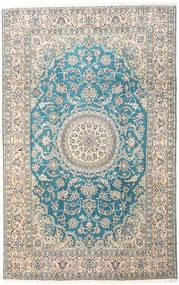 Nain 9La Koberec 197X310 Orientální Ručně Tkaný Béžová/Světle Hnědá (Vlna/Hedvábí, Persie/Írán)