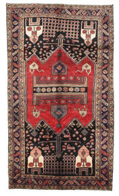 Koliai Rug 155X272 Authentic  Oriental Handknotted Light Brown/Dark Green/Brown (Wool, Persia/Iran)