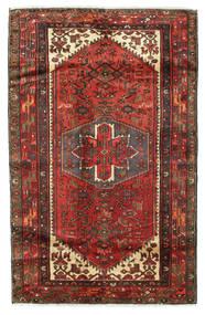 Saveh Matto 124X202 Itämainen Käsinsolmittu Tummanpunainen/Tummanruskea (Villa, Persia/Iran)