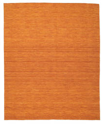 Kilim Loom - Orange Rug 250X300 Authentic Modern Handwoven Orange/Brown Large (Wool, India)