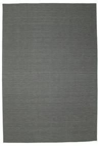 Kelim loom - Donkergrijs tapijt CVD9116