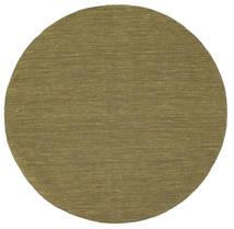 Kelim loom - Olivgrön matta CVD8885