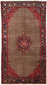 Koliai Rug 147X273 Authentic  Oriental Handknotted Brown/Light Brown (Wool, Persia/Iran)