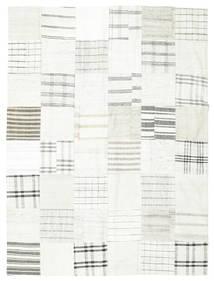 キリム パッチワーク 絨毯 170X227 モダン 手織り ベージュ/薄い灰色 (ウール, トルコ)