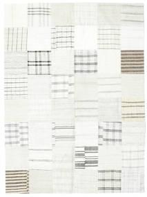 Kelim Patchwork Matto 171X231 Moderni Käsinkudottu Beige/Valkoinen/Creme (Villa, Turkki)