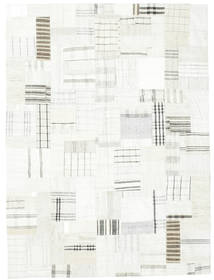 Kilim Patchwork Rug 170X230 Authentic  Modern Handwoven Beige (Wool, Turkey)