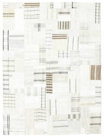 Kilim Patchwork Rug 170X231 Authentic  Modern Handwoven Beige/White/Creme (Wool, Turkey)