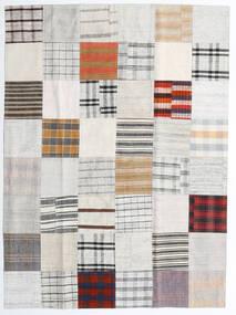 キリム パッチワーク 絨毯 170X231 モダン 手織り ホワイト/クリーム色/ベージュ (ウール, トルコ)