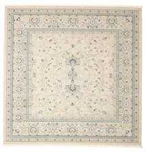 Ziegler Michigan - Green/Beige Rug 300X300 Oriental Square White/Creme/Light Grey/Beige Large ( Turkey)