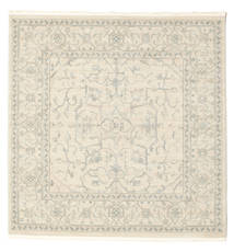 Ziegler Manhattan Rug 200X200 Oriental Square White/Creme/Beige/Light Grey ( Turkey)