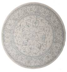 Ziegler Manhattan Rug Ø 200 Oriental Round White/Creme/Beige/Light Grey ( Turkey)