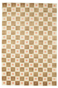 Himalaya Rug 190X285 Authentic  Modern Handknotted Light Brown/Beige (Wool, India)