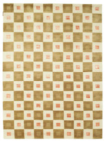Himalaya Rug 190X288 Authentic  Modern Handknotted Beige/Light Brown (Wool, India)