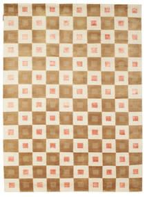 Himalaya Matto 164X221 Moderni Käsinsolmittu Vaaleanruskea/Beige (Villa, Intia)