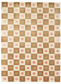 Himalaya Matto 158X218 Moderni Käsinsolmittu Vaaleanruskea/Beige ( Intia)
