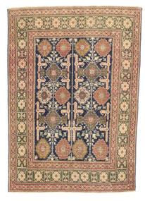 Tabriz Patina Alfombra 103X147 Oriental Hecha A Mano Marrón Claro/Marrón/Gris Oscuro (Lana, Persia/Irán)