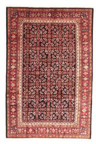 Arak Teppich 206X309 Echter Orientalischer Handgeknüpfter Rost/Rot/Braun (Wolle, Persien/Iran)