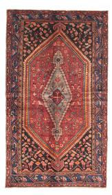 Zanjan Teppe 140X245 Ekte Orientalsk Håndknyttet Mørk Rød/Mørk Brun (Ull, Persia/Iran)