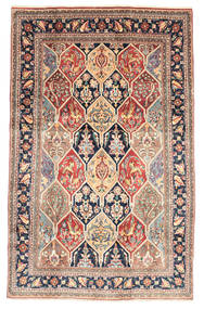 Bakhtiari Rug 195X310 Authentic  Oriental Handknotted Light Brown/Beige (Wool, Persia/Iran)