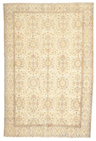 Colored Vintage Alfombra 194X283 Moderna Hecha A Mano Beige/Beige Oscuro (Lana, Turquía)
