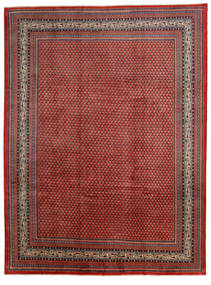 Sarouk Mir Rug 285X380 Authentic  Oriental Handknotted Dark Red/Brown Large (Wool, Persia/Iran)