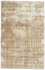 Colored Vintage Rug 200X308 Authentic  Modern Handknotted Beige/Light Grey (Wool, Turkey)