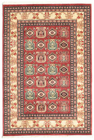 Kazak Simav Rug 140X200 Oriental Brown/Beige ( Turkey)