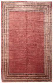 Sarouk Mir Rug 336X535 Authentic  Oriental Handknotted Rust Red/Dark Beige Large (Wool, Persia/Iran)