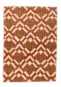 Ziegler Modern Rug 120X166 Authentic  Modern Handknotted Rust Red/Beige (Wool, Pakistan)