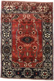 Lori Rug 165X246 Authentic  Oriental Handknotted Dark Red/Dark Brown (Wool, Persia/Iran)