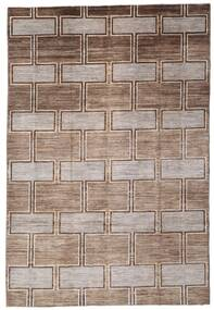 Ziegler Modern Rug 197X290 Authentic  Modern Handknotted Brown/Light Brown (Wool, Pakistan)
