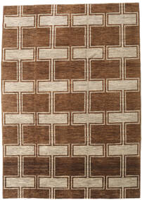 Ziegler Modern Rug 207X291 Authentic  Modern Handknotted Dark Brown/Brown (Wool, Pakistan)