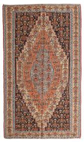 Килим Сэннех Ковер 150X260 Сотканный Вручную Светло-Коричневый/Темно-Красный (Шерсть, Персия/Иран)
