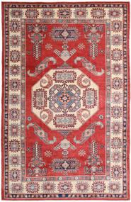 カザック 絨毯 190X296 オリエンタル 手織り 深紅色の/ライトピンク (ウール, パキスタン)