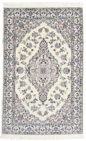 Nain 6La Matto 108X170 Itämainen Käsinsolmittu Beige/Vaaleanharmaa (Villa/Silkki, Persia/Iran)