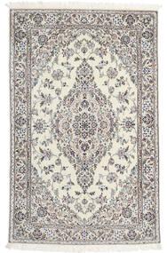 Nain 6La Rug 110X176 Authentic  Oriental Handknotted Light Brown/Beige (Wool/Silk, Persia/Iran)